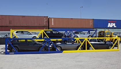Containerised Car Shipment