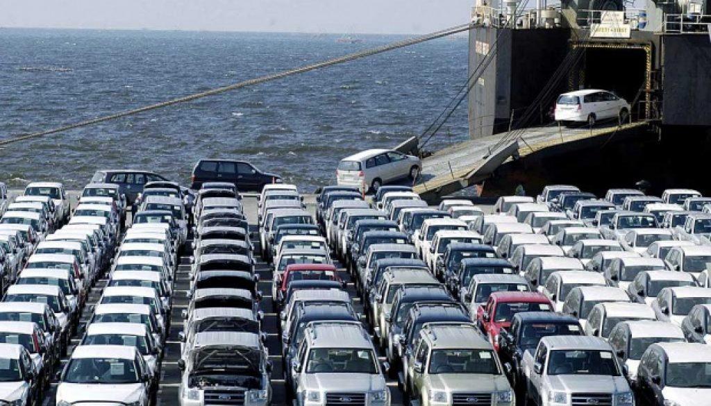 Preparing cars for export
