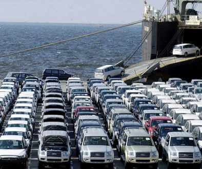 Preparing cars for export