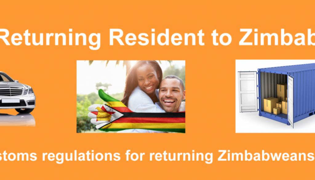 returning resident zimbabwe
